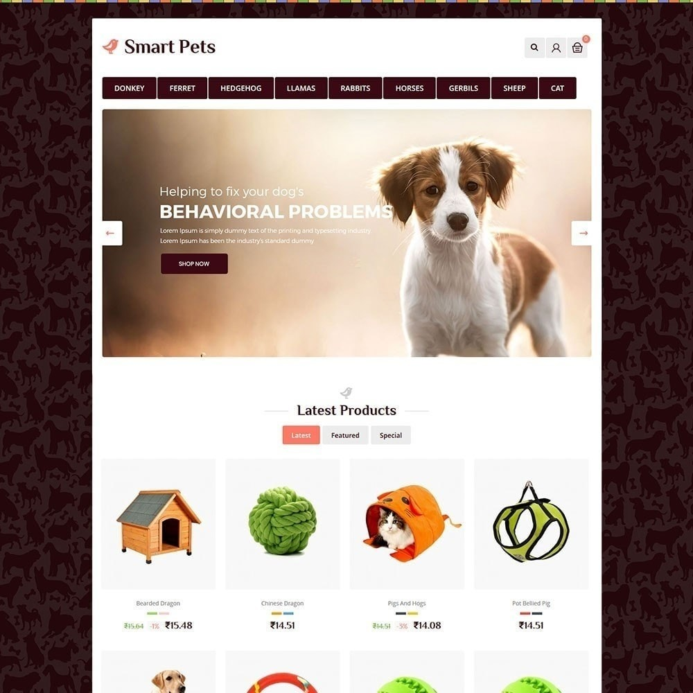 theme - Dieren - Smart Pet - Animal Pet Store - 2