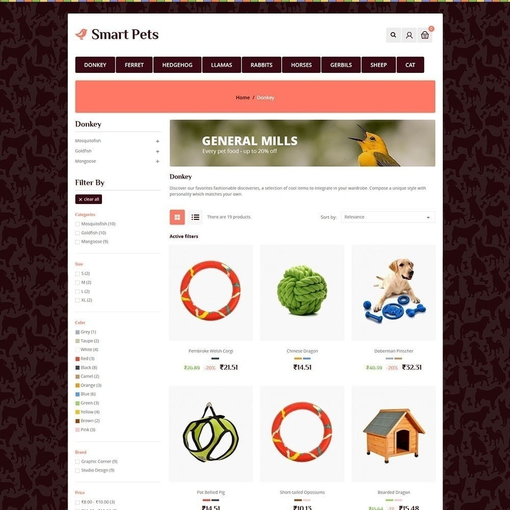 theme - Animais - Animal de Estimação Inteligente - Animal Pet Store - 5