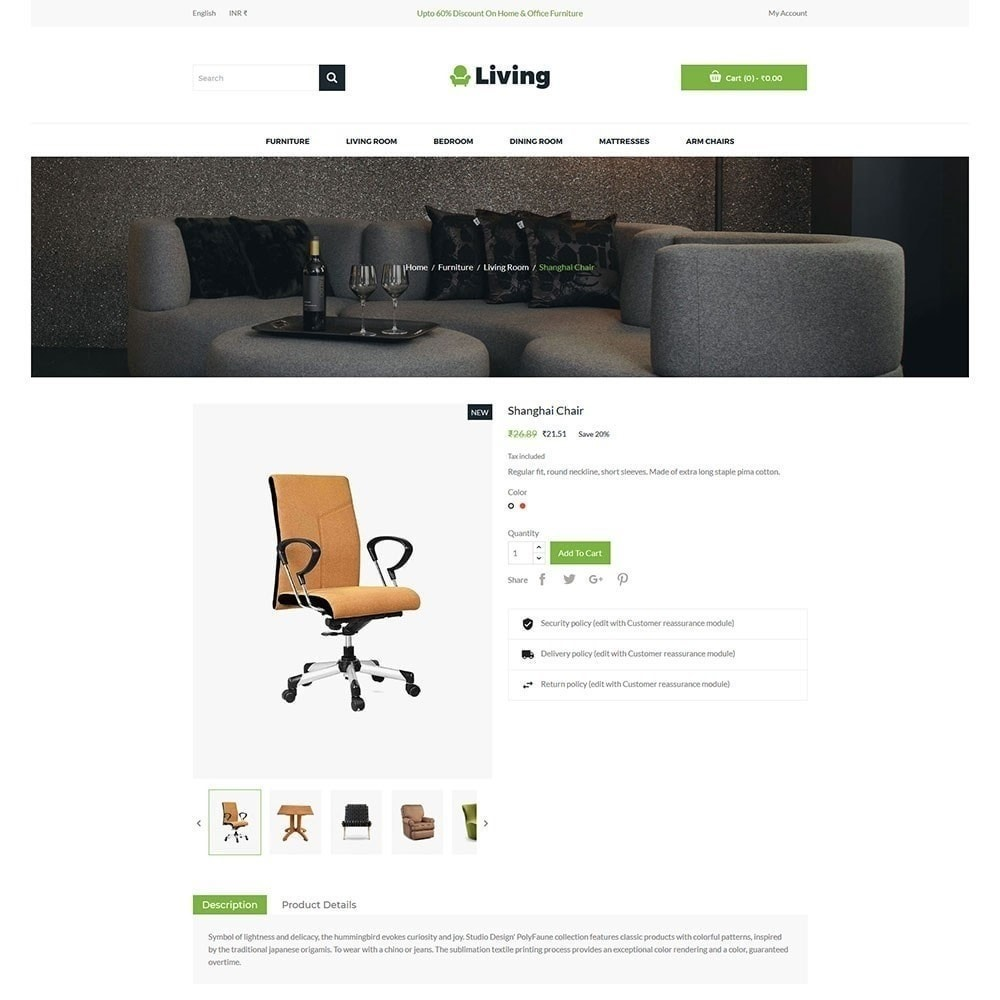 theme - Home & Garden - Living - Furniture Store - 3