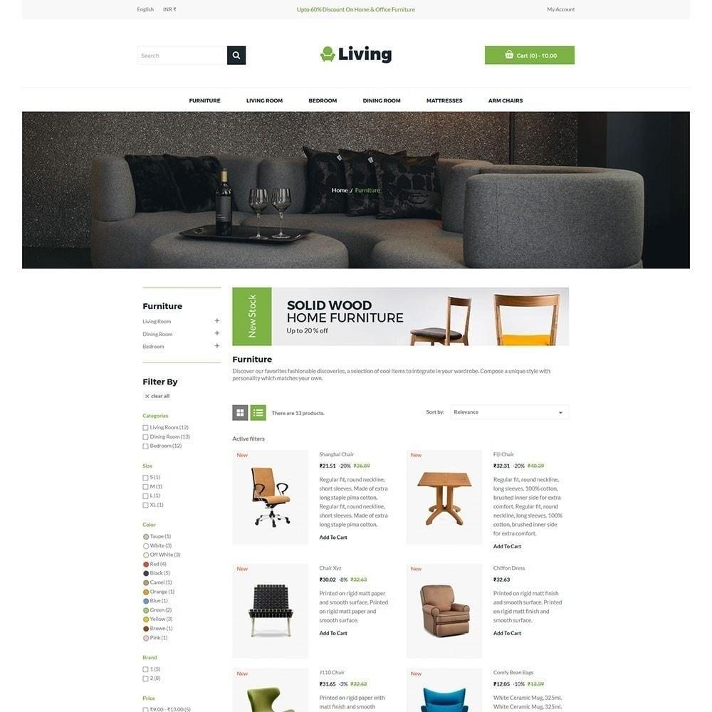 theme - Hogar y Jardín - Living - Tienda de muebles - 3