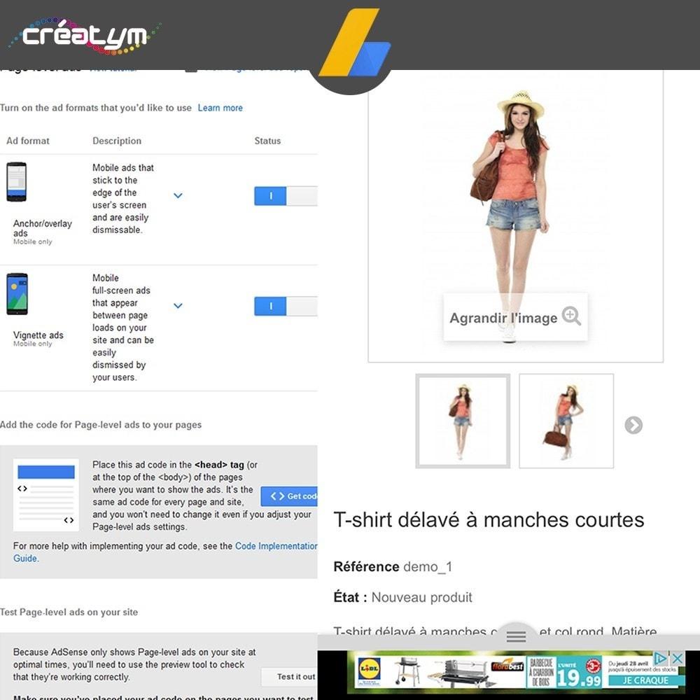 module - SEA SEM pago & Filiação - Google Adsense Ads - 7