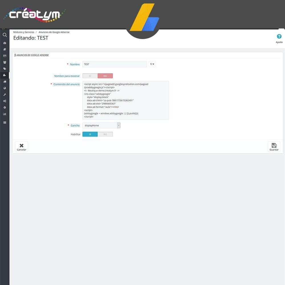 module - SEM SEA - Posicionamiento patrocinado & Afiliación - Google Adsense - 4