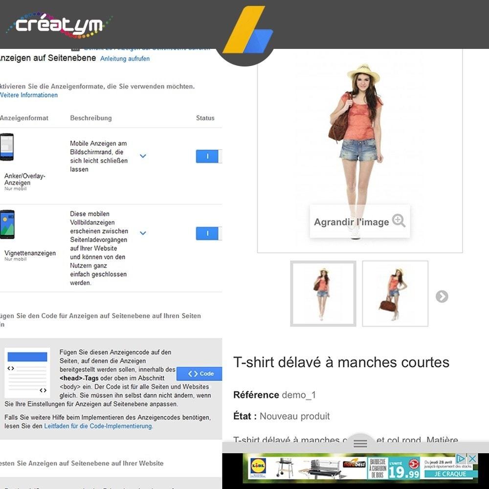 module - SEA SEM (Bezahlte Werbung) & Affiliate Plattformen - Google Adsense - 7