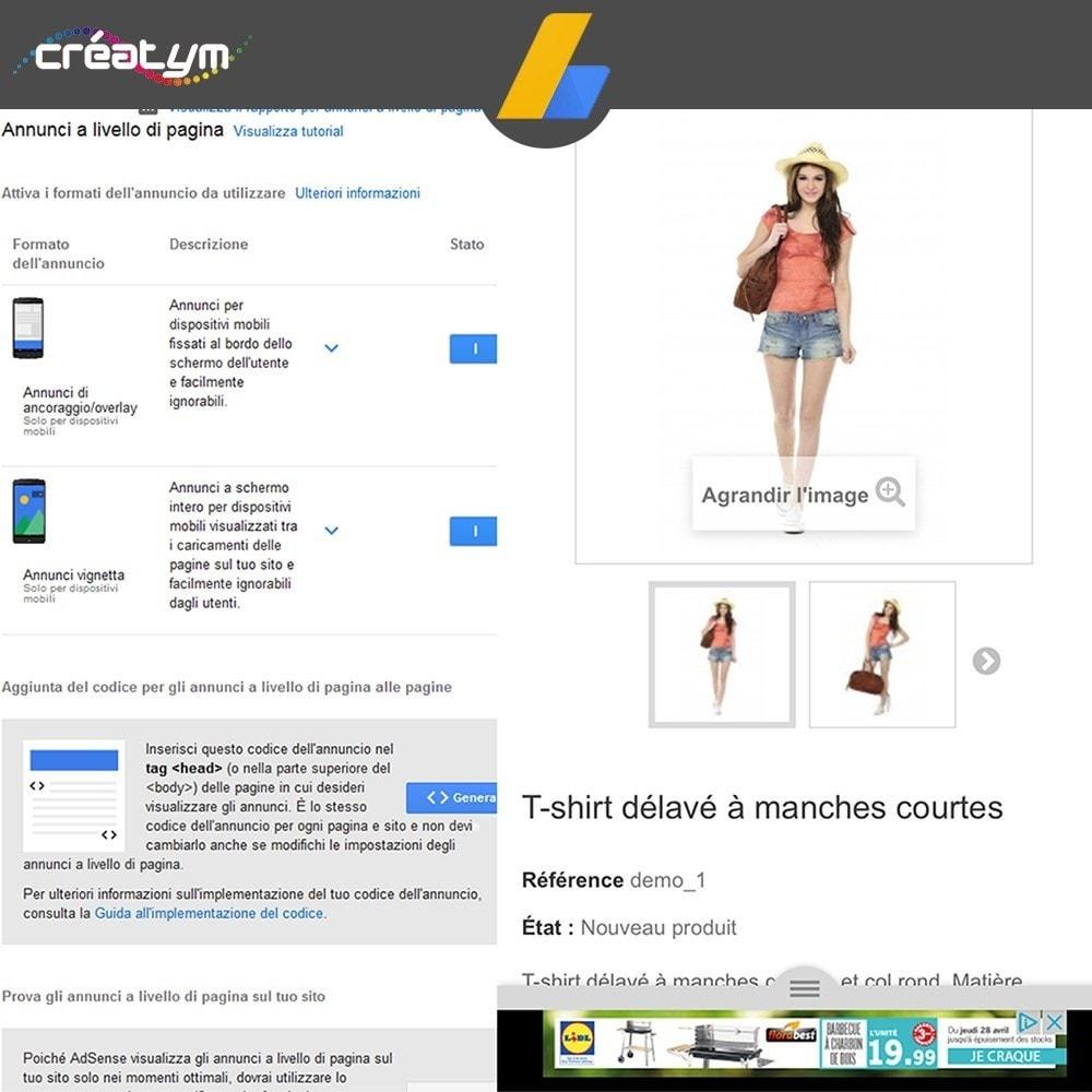 module - Indicizzazione a pagamento (SEA SEM) & Affiliazione - Google Adsense - 7