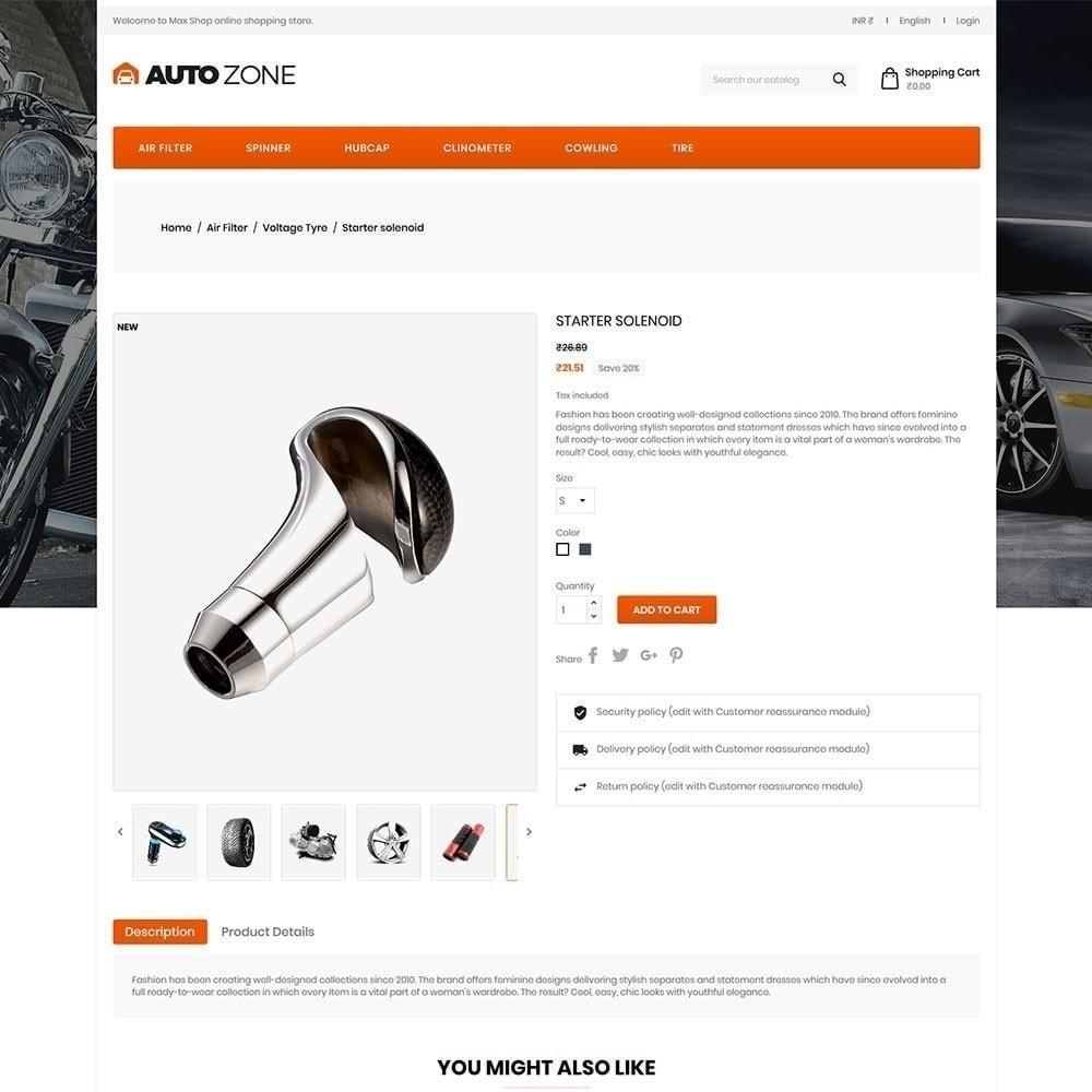 theme - Auto & Moto - Autozone - Auto Store - 3