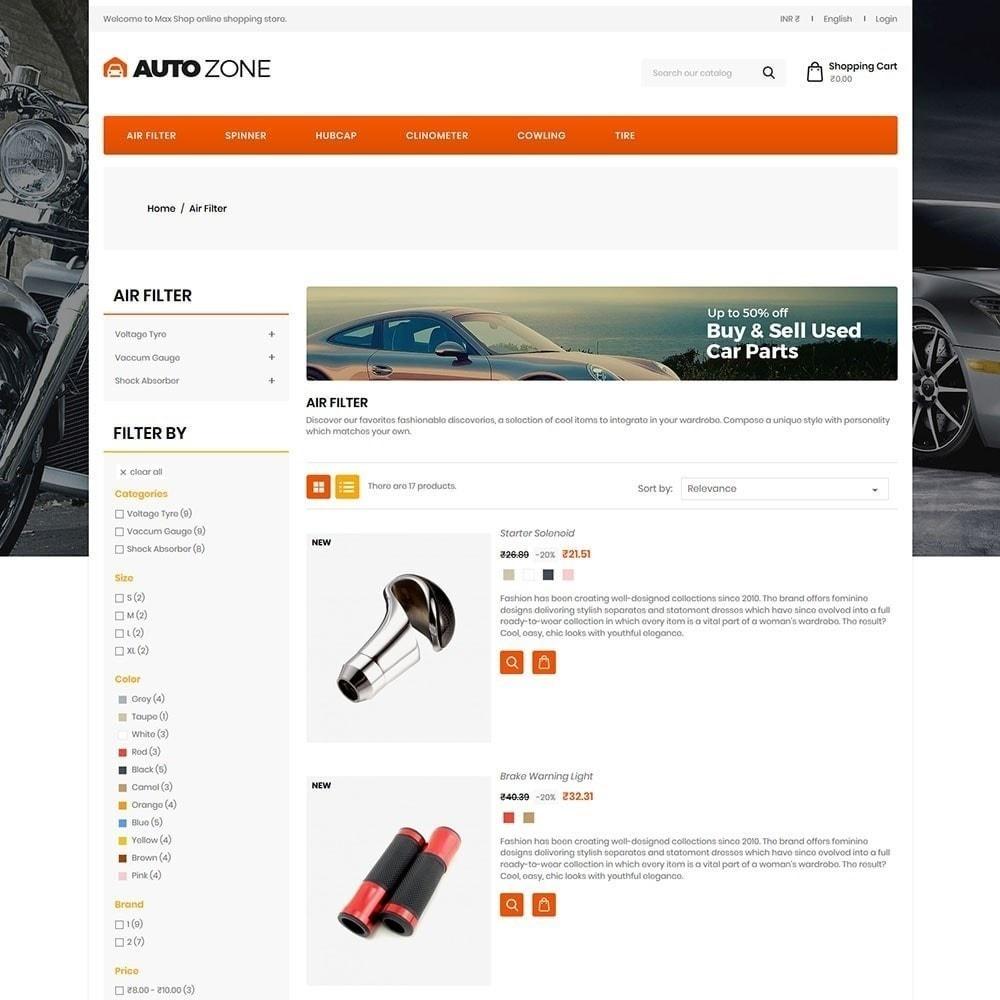 theme - Samochody - Autozone - Auto Store - 5