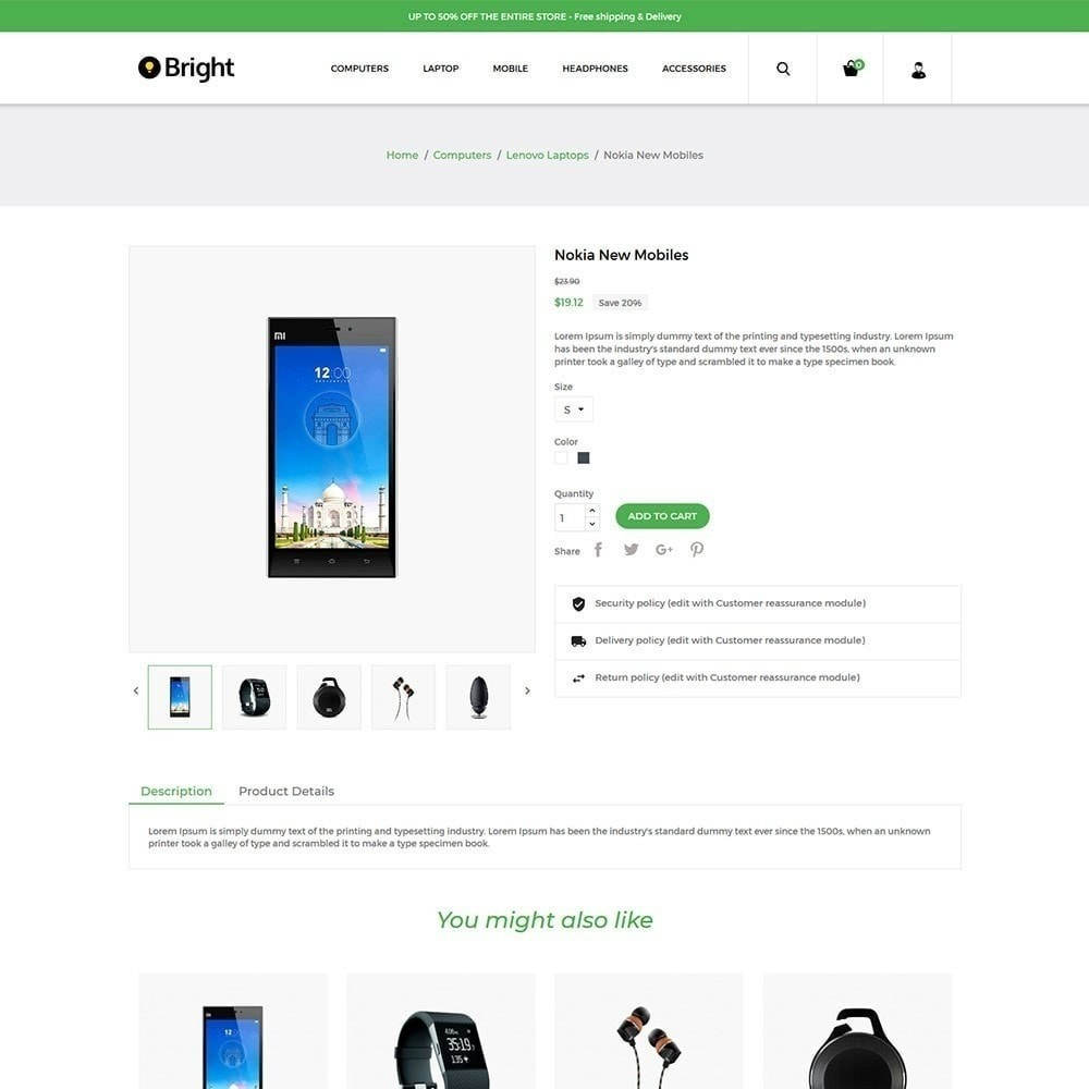 theme - Elettronica & High Tech - Bright Electronics Store - 5