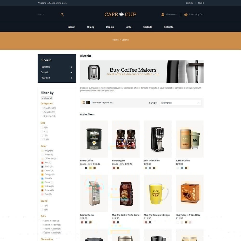 theme - Lebensmittel & Restaurants - Kaffeetasse - Coffee Store - 2