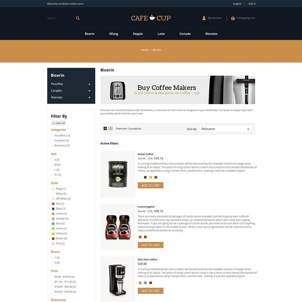 theme - Lebensmittel & Restaurants - Kaffeetasse - Coffee Store - 3