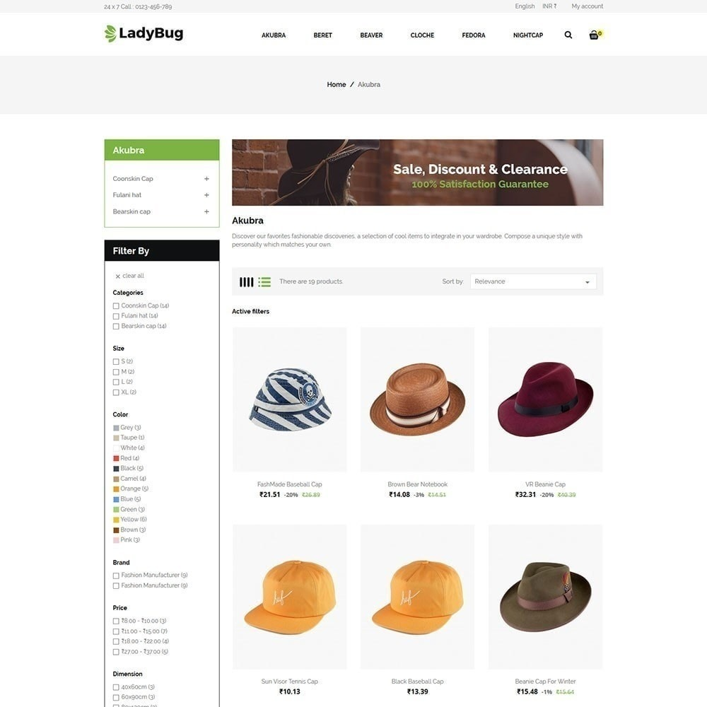 theme - Moda & Calzature - Lady Bag Store - 3