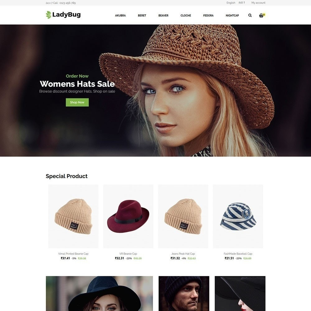 theme - Mode & Schoenen - Lady Bag Store - 3