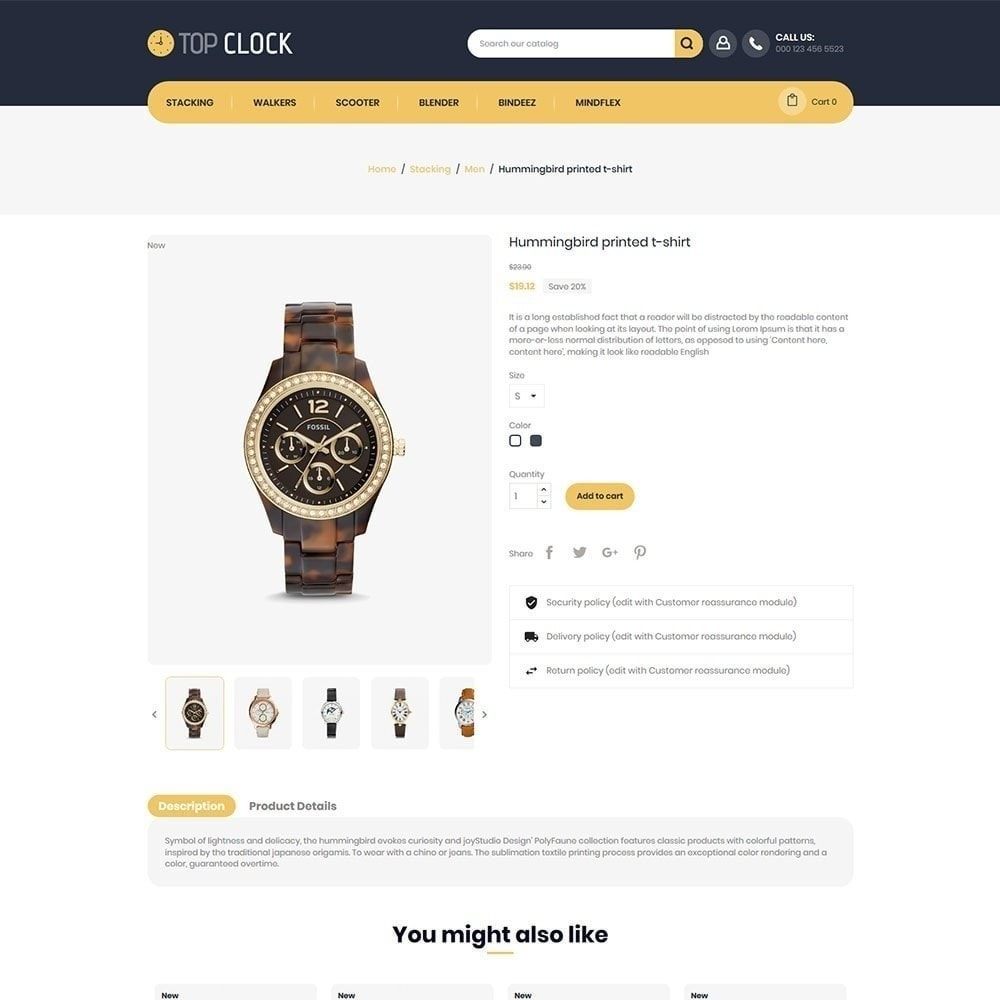 theme - Mode & Schoenen - Topklok - Watch Store - 5