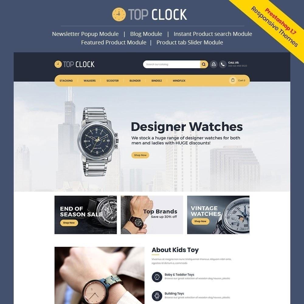 theme - Moda & Obuwie - Top Clock - Watch Store - 1