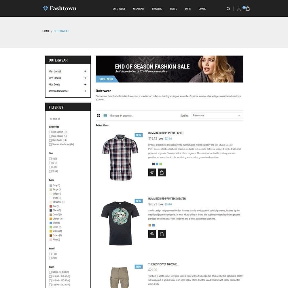theme - Moda y Calzado - Fashtown - Tienda de moda - 5