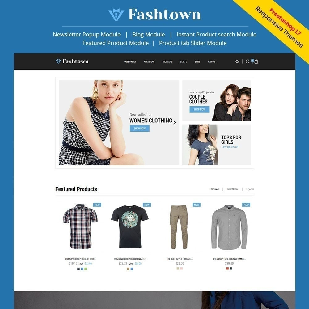 theme - Moda & Calzature - Fashtown - Fashion Store - 1