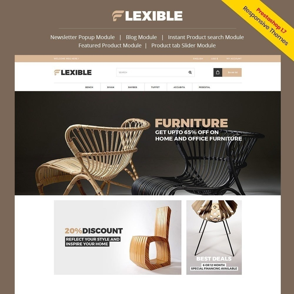 theme - Mode & Chaussures - Magasin de meubles flexible - 5