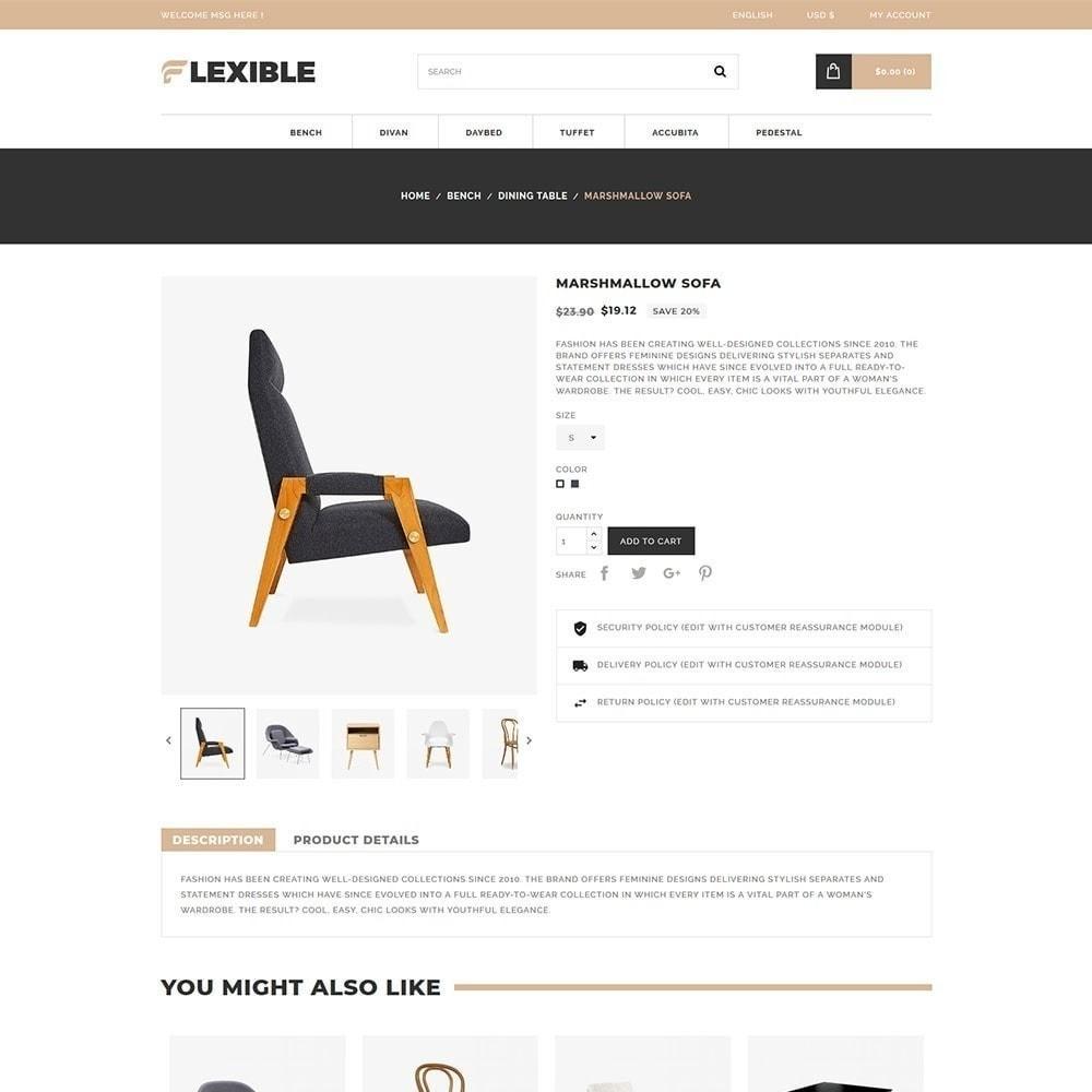 theme - Moda y Calzado - Tienda de muebles flexibles - 6