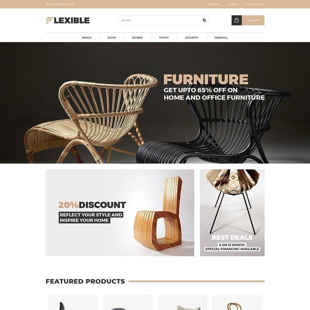 theme - Moda & Calzature - Negozio di mobili flessibile - 1