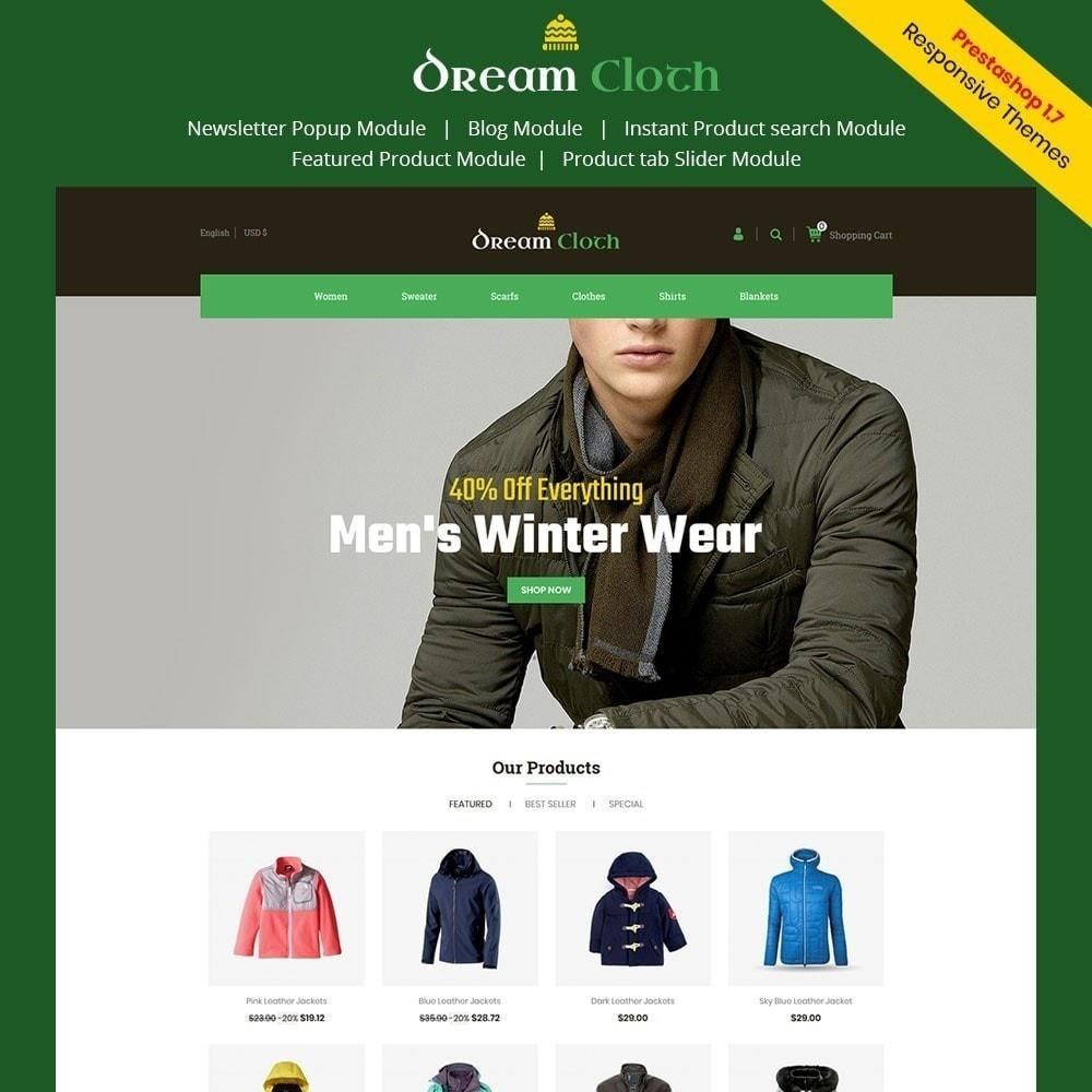 theme - Fashion & Shoes - Dream Cloth Store - 4