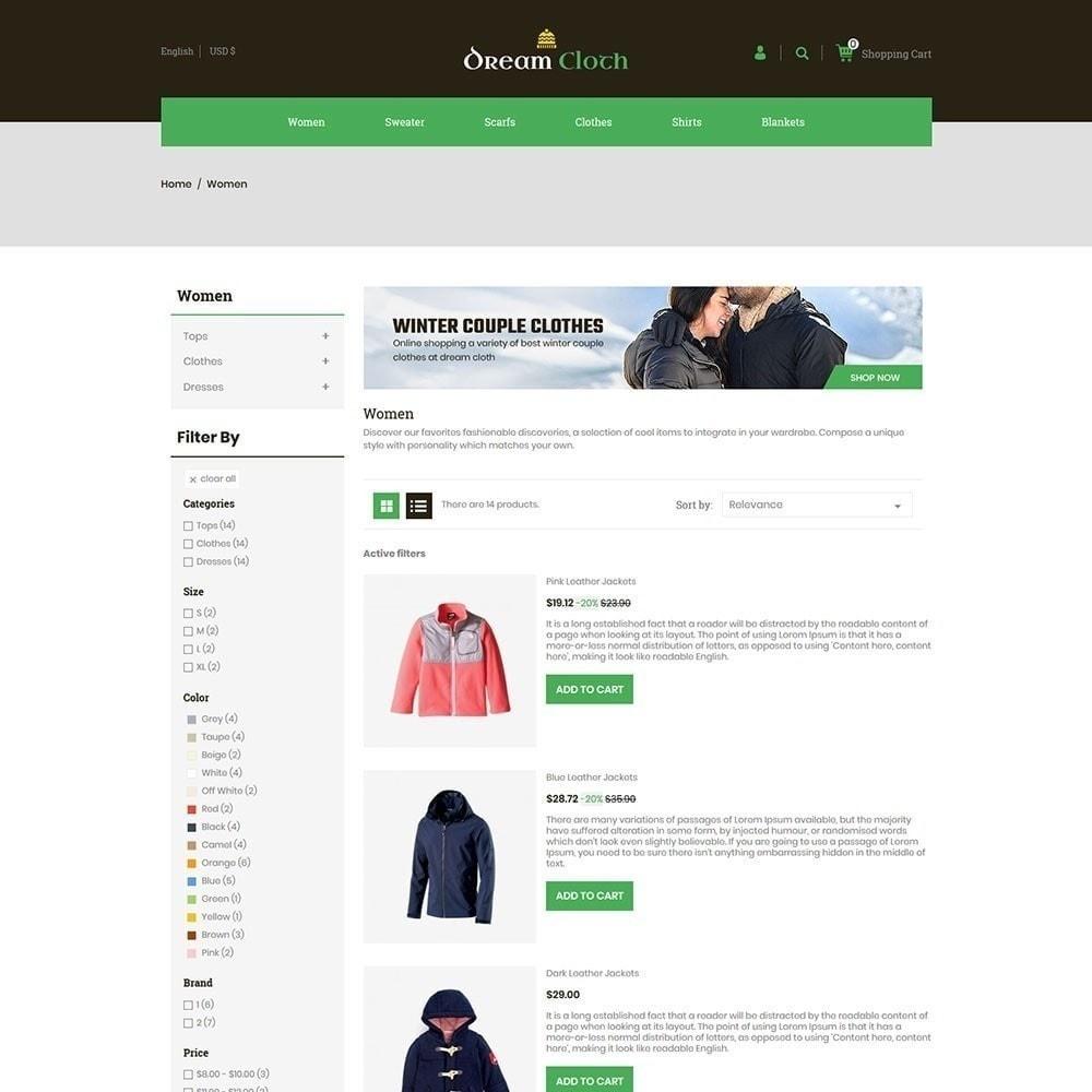 theme - Fashion & Shoes - Dream Cloth Store - 5