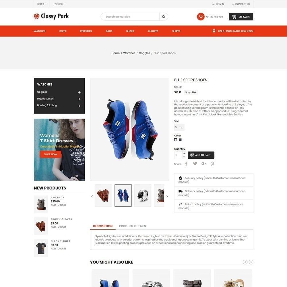 theme - Fashion & Shoes - Classy Fashion Store - 4