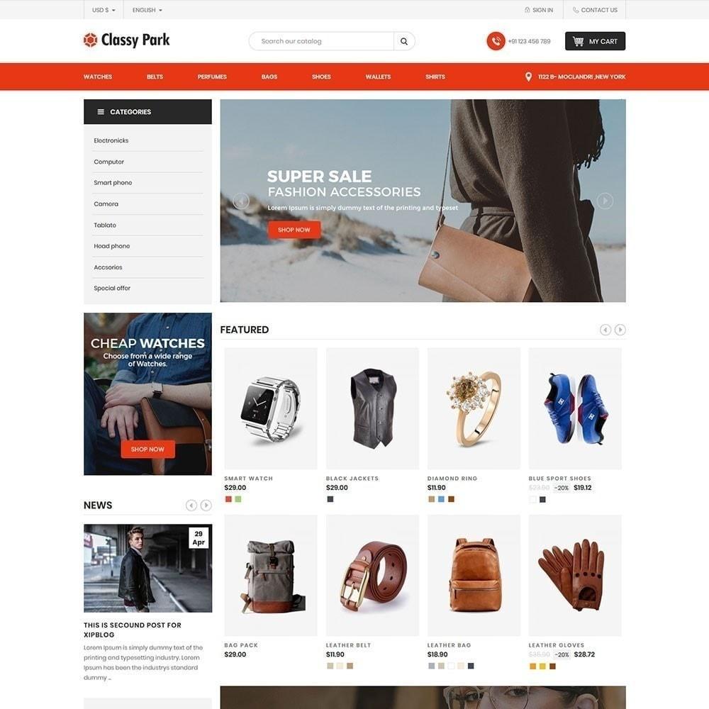 theme - Мода и обувь - Классический магазин одежды - 2