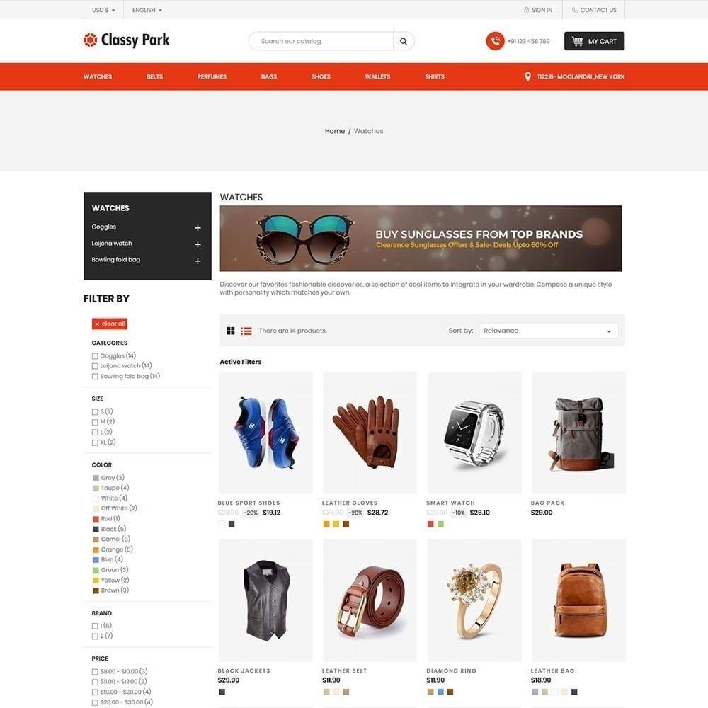 theme - Мода и обувь - Классический магазин одежды - 4
