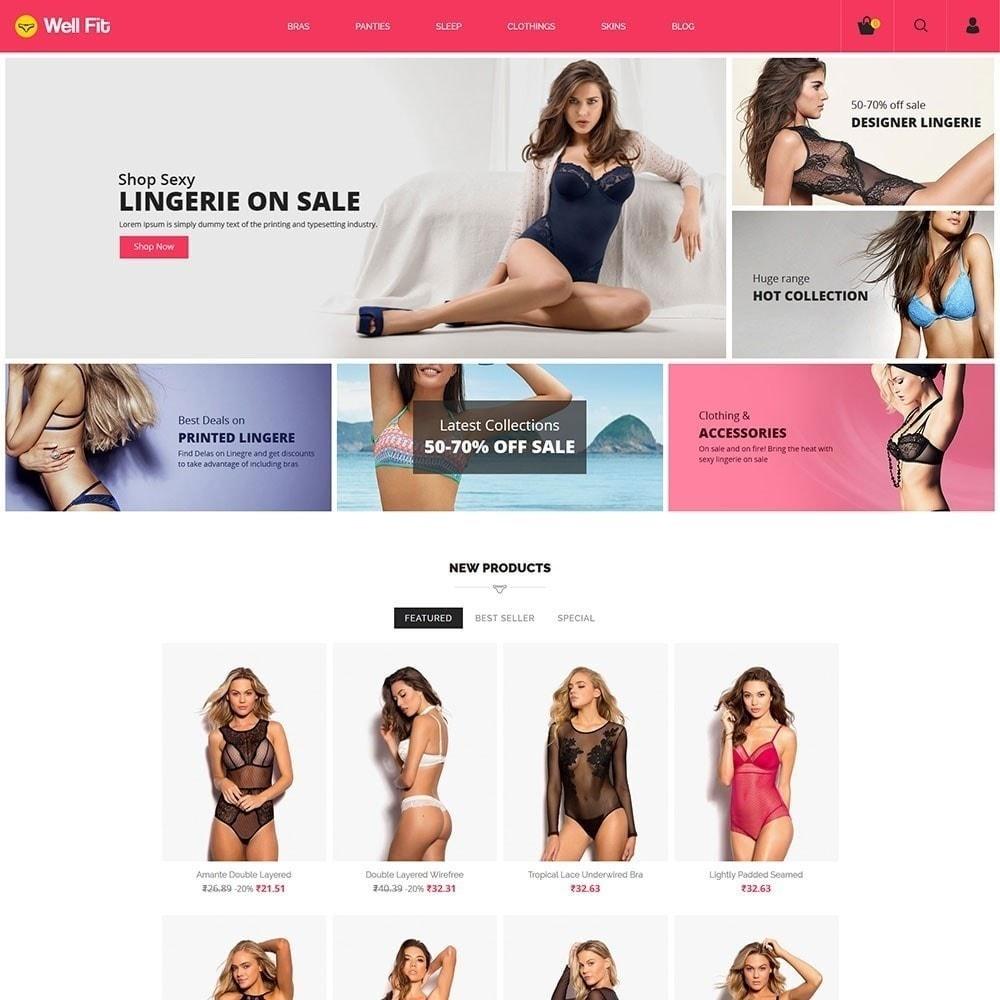 theme - Mode & Schoenen - Wellfit - Lingerie Fashion Store - 5
