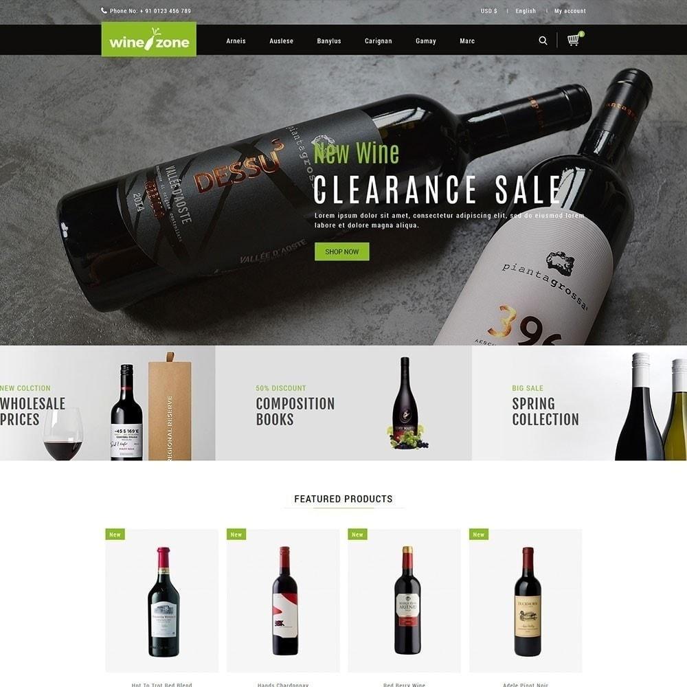 theme - Drink & Wine - Winezone - Wine Store - 5