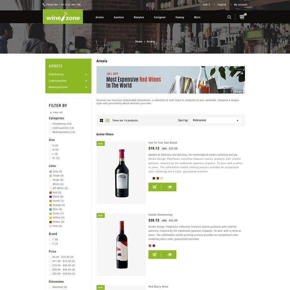 theme - Żywność & Restauracje - Winezone - Wine Store - 3
