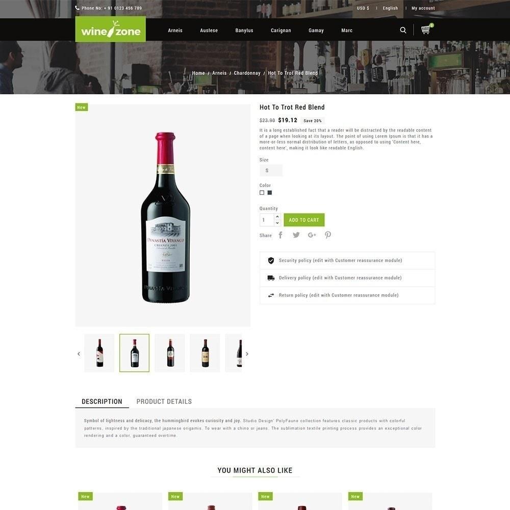 theme - Żywność & Restauracje - Winezone - Wine Store - 4