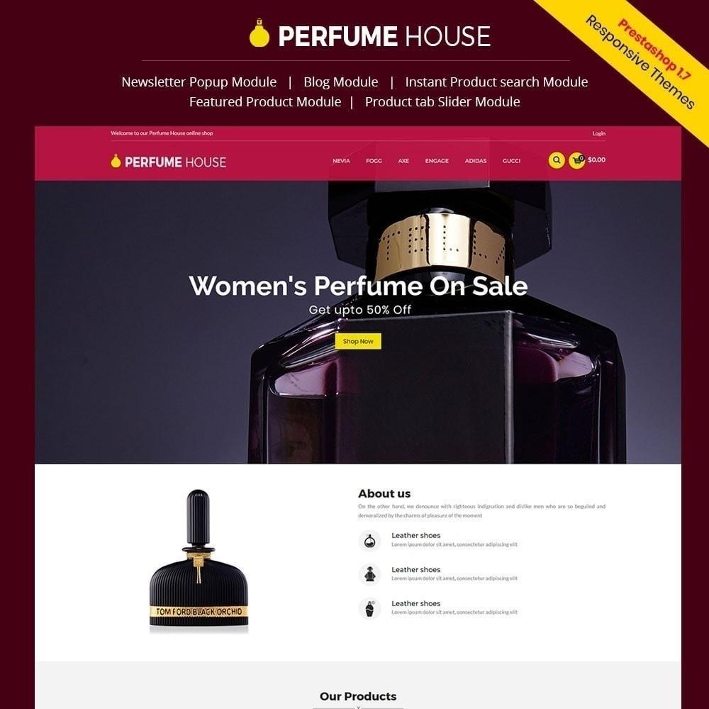 theme - Fashion & Shoes - Perfume Fashion Store - 1