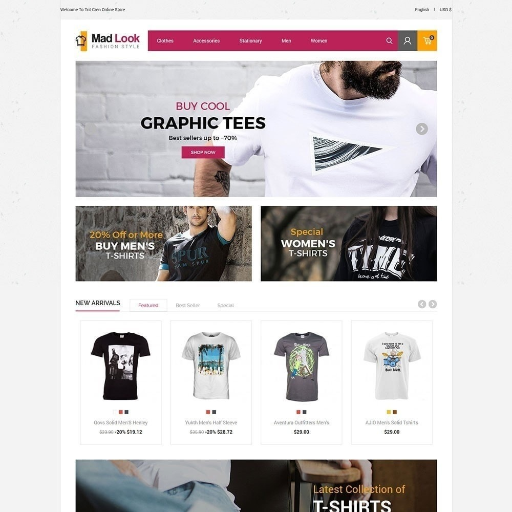 theme - Mode & Chaussures - Magasin de mode Madlook - 5