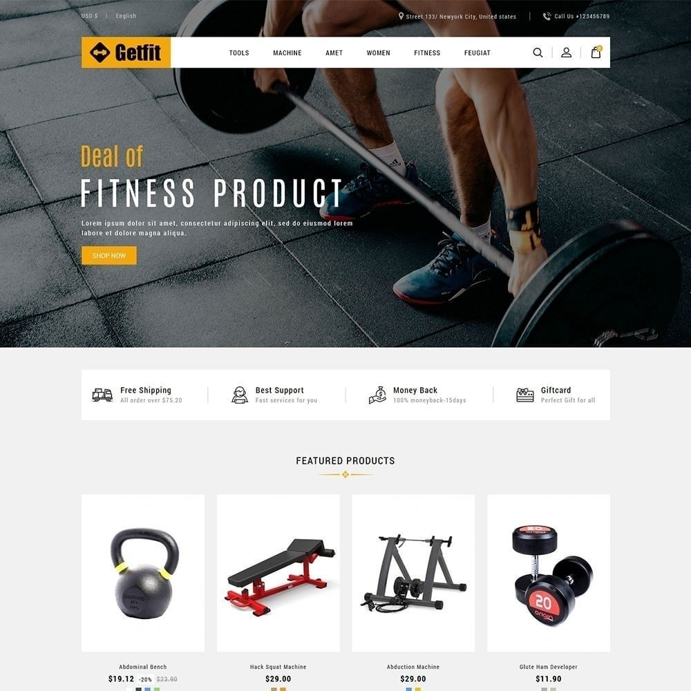 theme - Moda y Calzado - Get Fit Gym Store - 5