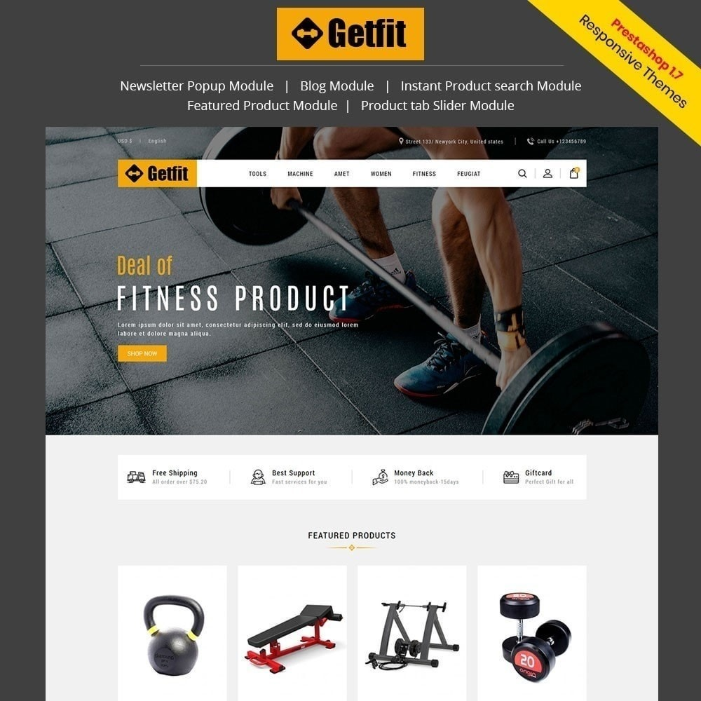 Get Fit Gym Store