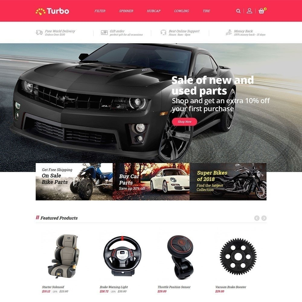 theme - Carros & Motos - Auto Loja Turbo - 2