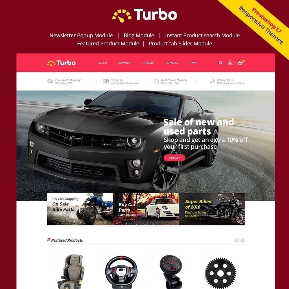 theme - Авто и Мото - Turbo Auto Store - 1