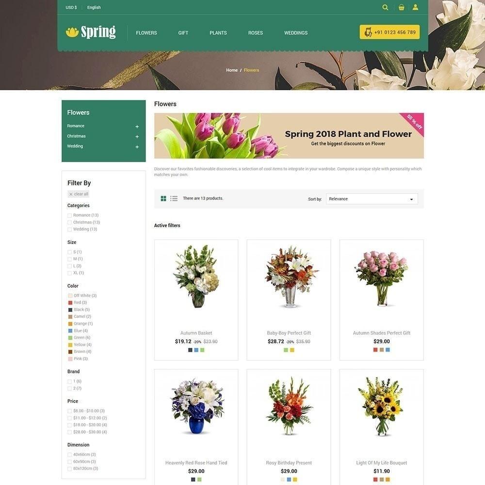 theme - Food & Restaurant - Spring Flower Store - 4