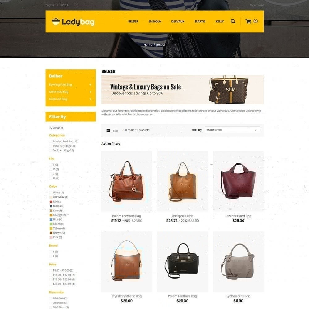 theme - Mode & Schoenen - Ladybag Bag Store - 3