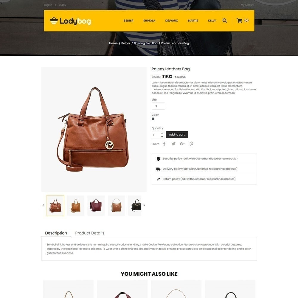 theme - Mode & Schoenen - Ladybag Bag Store - 5
