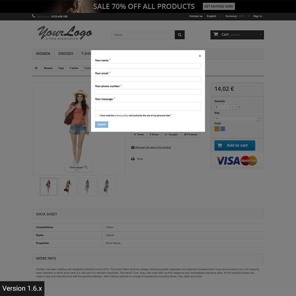 module - Altre informazioni & Product Tab - Richiedi informazioni prodotto - 8
