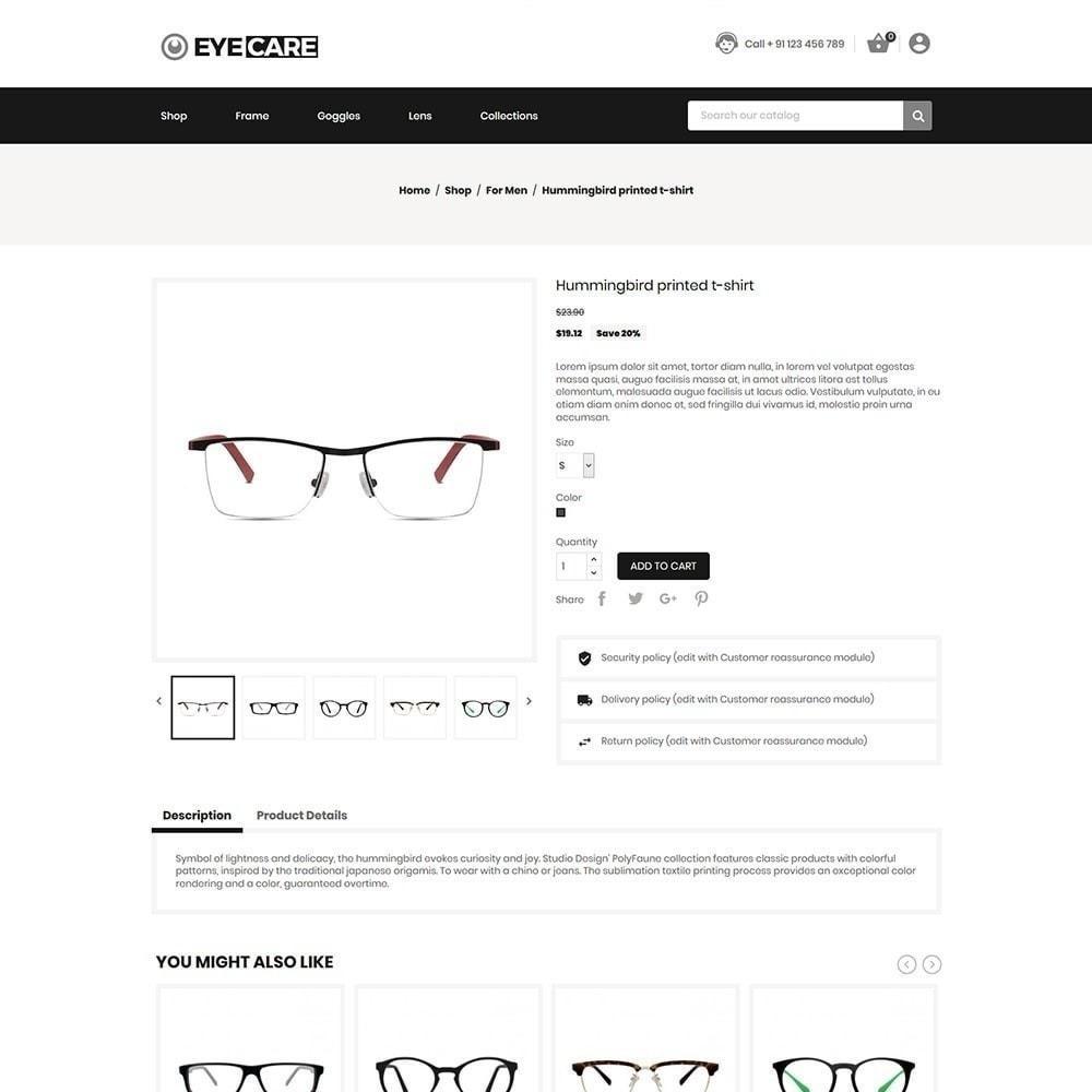 theme - Fashion & Shoes - Eyecare - Fashion Store - 6