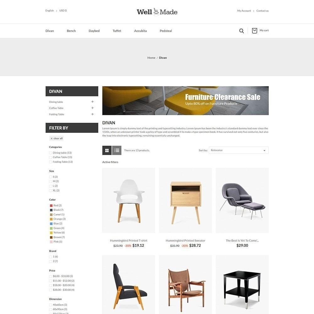 theme - Мода и обувь - Магазин мягкой мебели Wellmade - 2