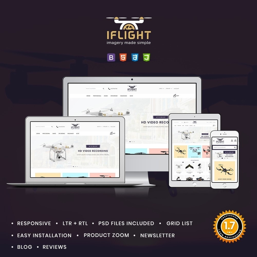 theme - Electronics & Computers - Iflight Drone Shop - 1