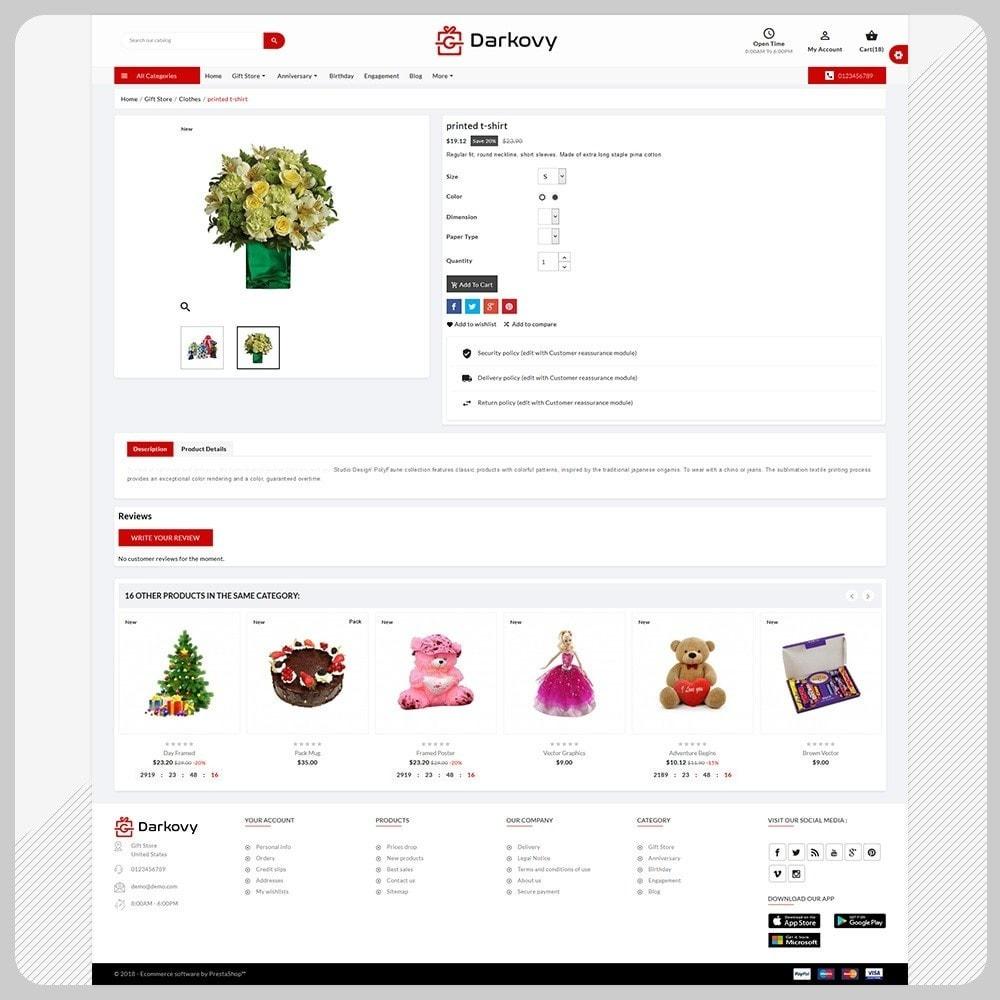 theme - Подарки, Цветы и праздничные товары - Darkovy Gift - The Gift Shop - 4