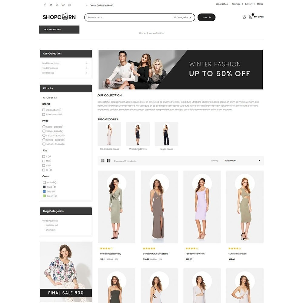 theme - Fashion & Shoes - Shopcorn - The fashion Store - 4
