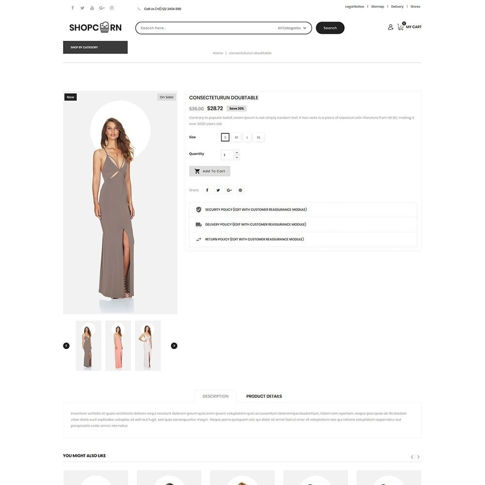 theme - Fashion & Shoes - Shopcorn - The fashion Store - 6