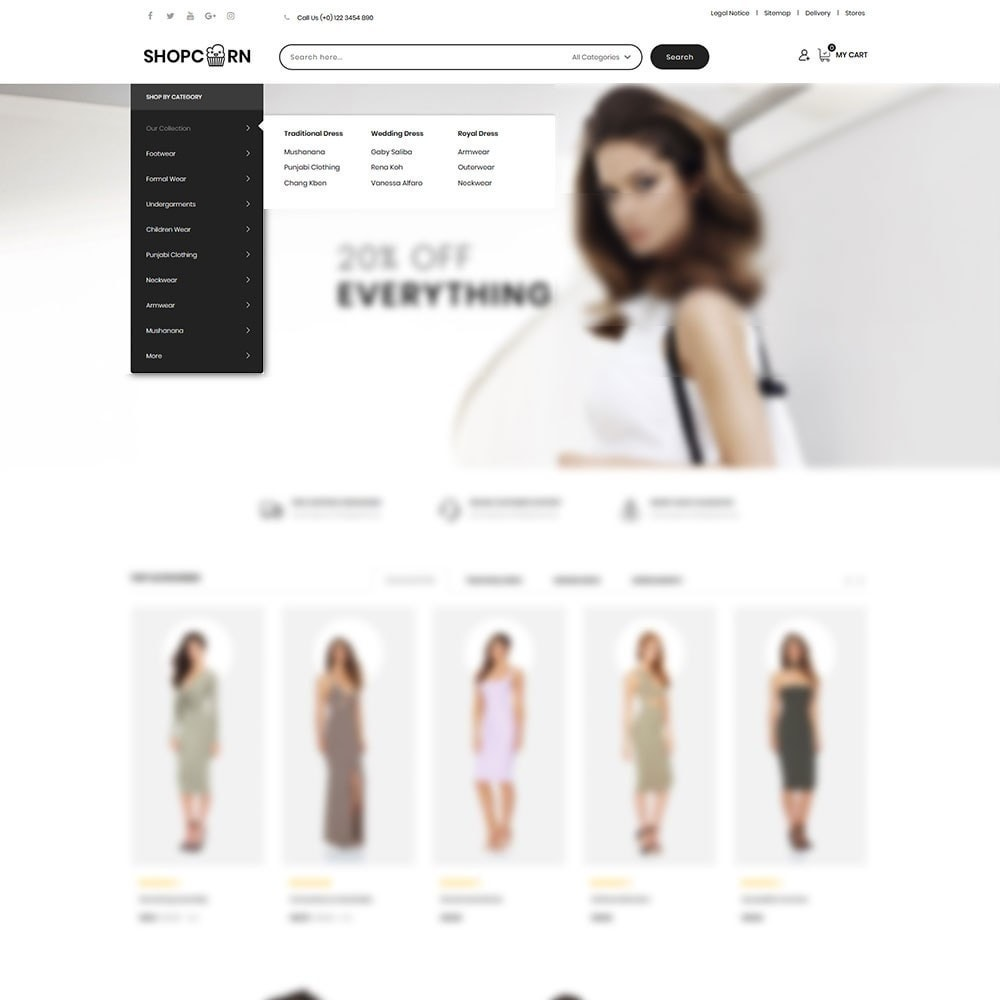 theme - Fashion & Shoes - Shopcorn - The fashion Store - 8