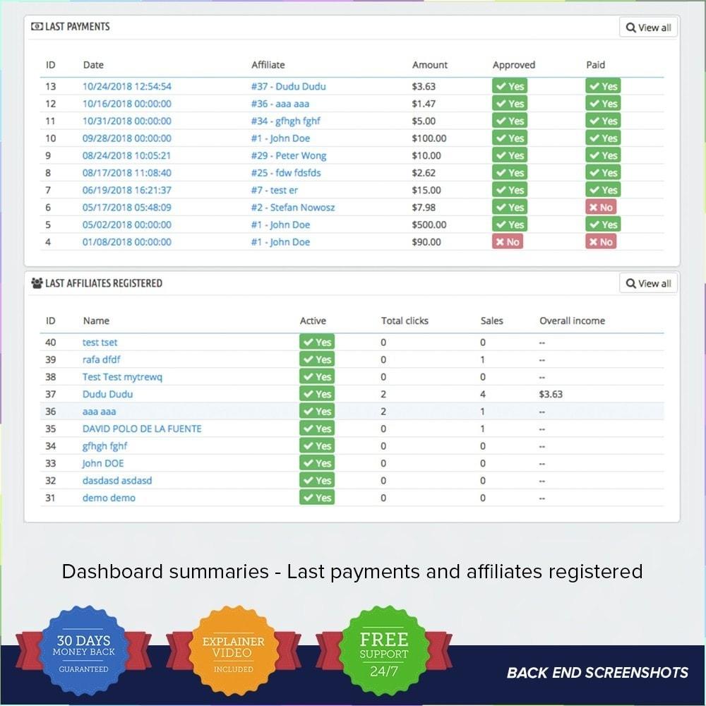 module - Indicizzazione a pagamento (SEA SEM) & Affiliazione - Full Affiliato - 22