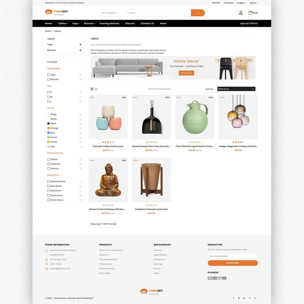 Furnishy  - The Furniture Store